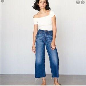 Madewell | Wide Crop Leg Jeans